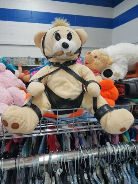 You Can Find Some Really Weird Stuff By Digging Through A Thrift Shop (47 pics)