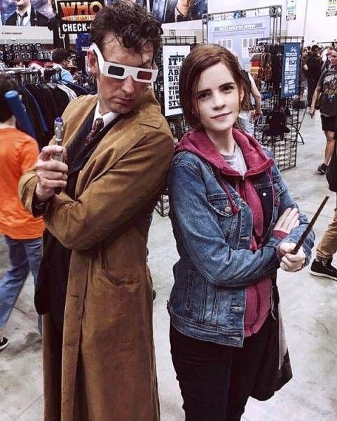 Emma Watson's Doppelganger Is Almost Spooky (12 pics)