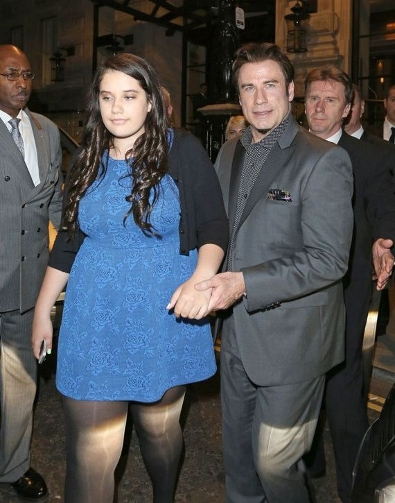 John Travolta Spotted With His 17 Year Old Daughter (3 pics)