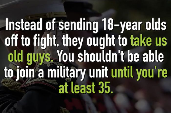 Guy Rejected From Military Gives Them An Unforgettable Response (21 pics)