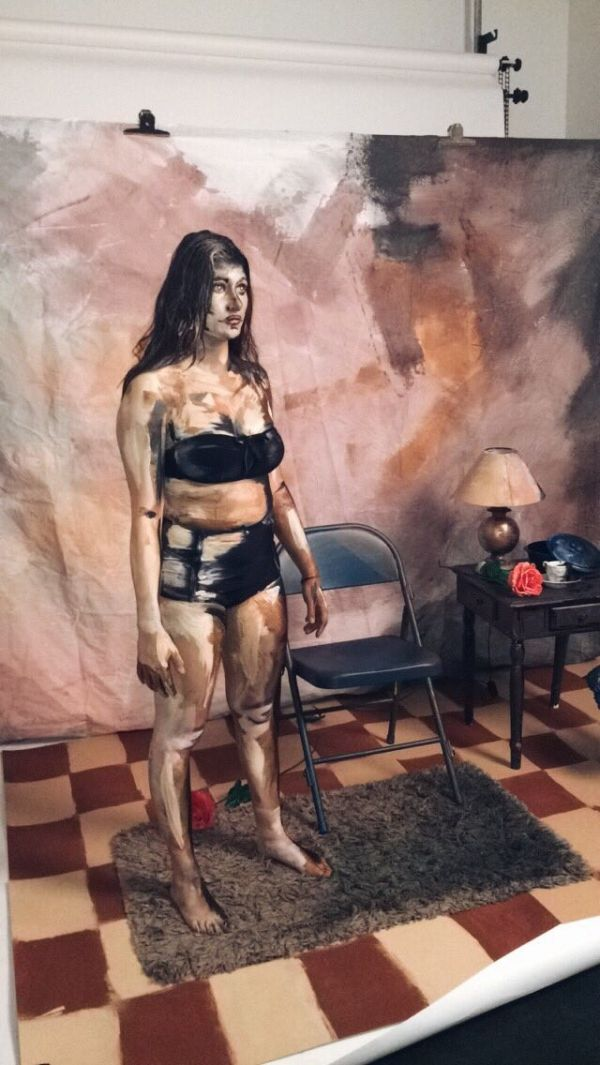 This Make Up Artist Turns The Human Body Into A Work Of Art (4 pics)