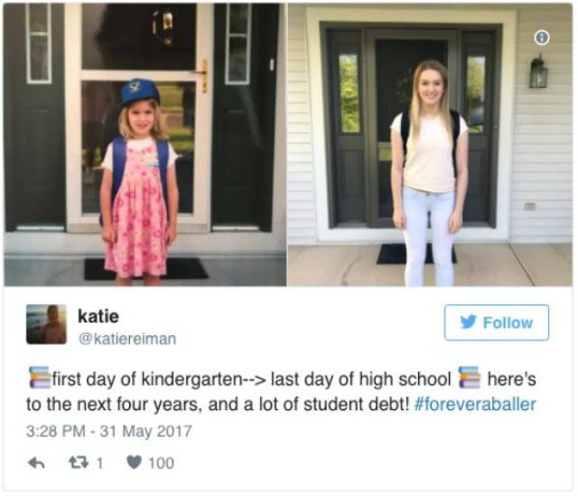 First Vs Last Day Of School Comparisons Show Kids Grow Up Quick (20 pics)