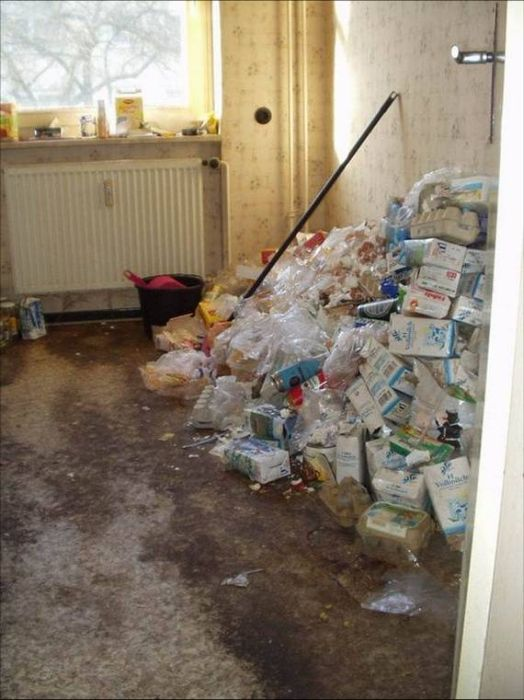 Inside The Apartment Of An Alcoholic (12 pics)