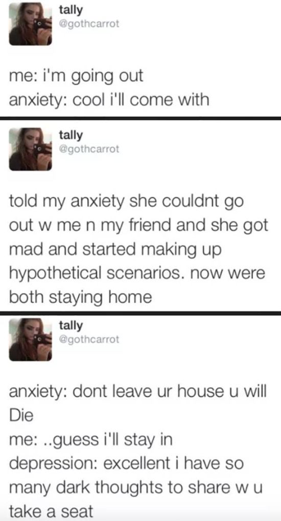 Anxiety Jokes That Prove That Laughter Can Cure Anything (24 pics)