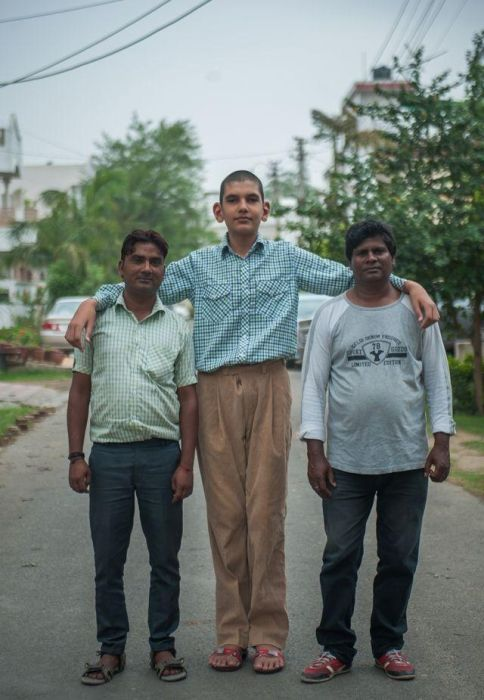 India Is Home To The World's Tallest Boy (13 pics)