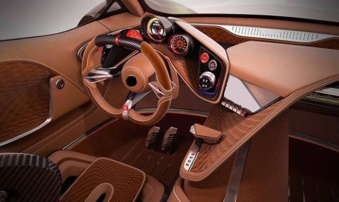First Ukranian Supercar Estimated To Cost 700 Thousand Euros (6 pics)