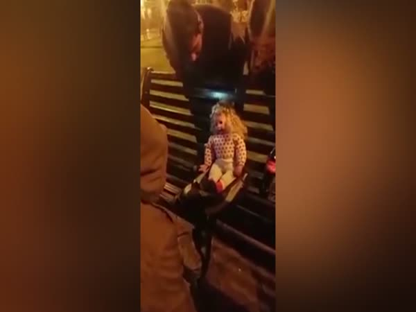 Possessed Chucky Style Doll Filmed Talking And Moving Despite Having Batteries Taken Out