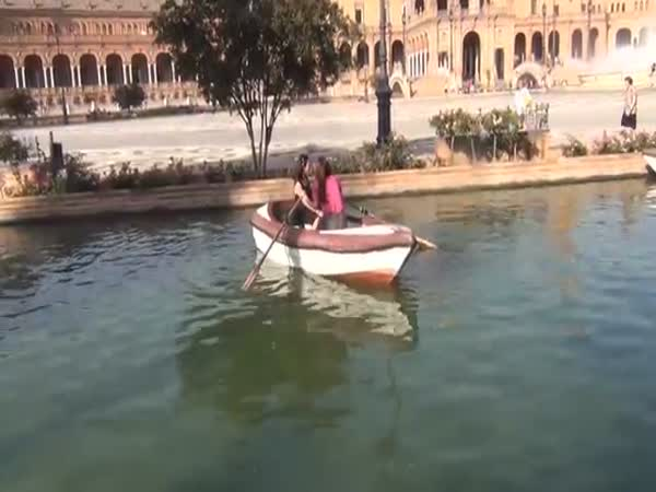 Two Girls One Boat
