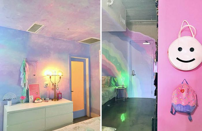 What It's Like To Live Inside Of A Rainbow (21 pics)