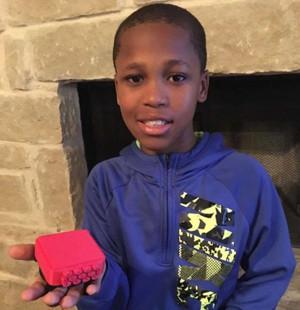 Little Boy Invents A Genius Device To Stop Children From Dying In Hot Cars (4 pics)