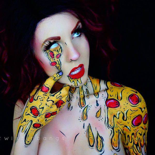 This Make-Up Artist's Work Is Terrifyingly Awesome (28 pics)