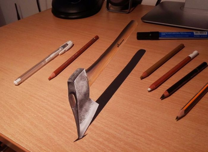 3D Drawings Created To Confuse People (25 pics)