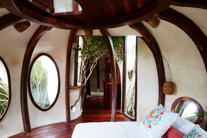 Amazing Treehouse In Mexico Overlooks Gorgeous Green Jungle (11 pics)
