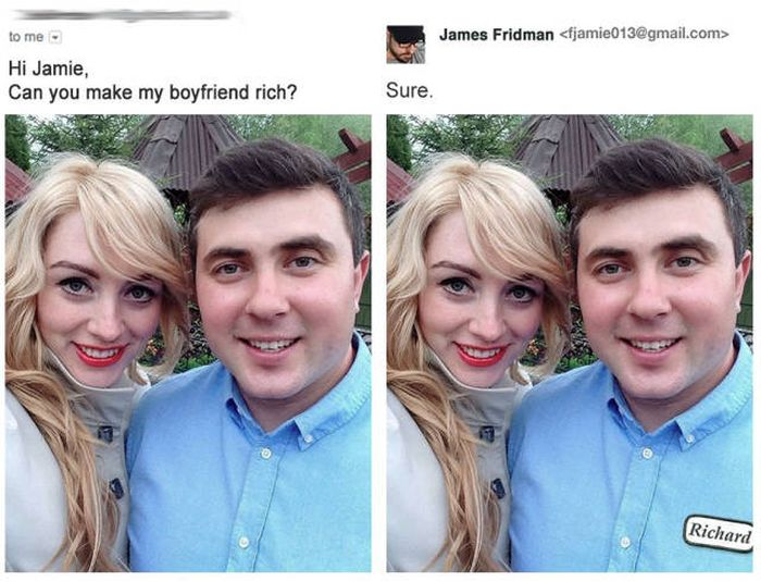 See What Happens When You Ask This Photoshop Master To Fix Your Photos (20 pics)