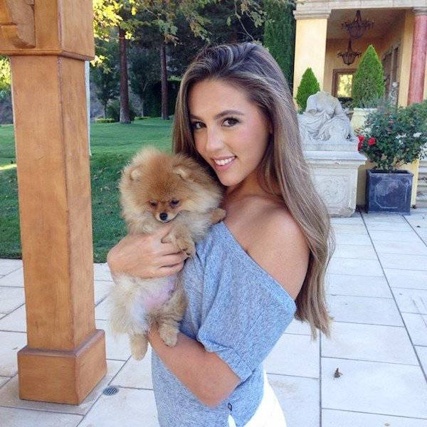 Sophia Stallone Doesn't Need Her Fists To Knock You Out (19 pics)