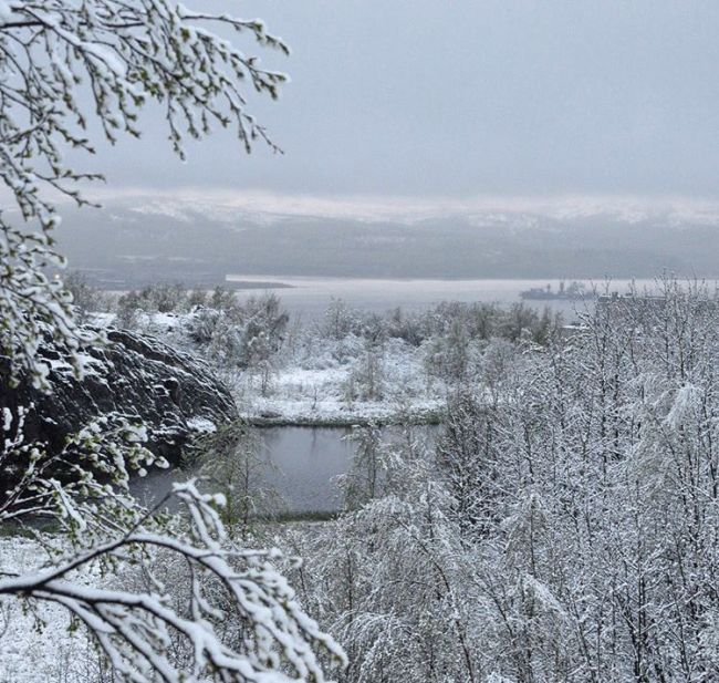 Murmansk Hit With Snow In June (13 pics)