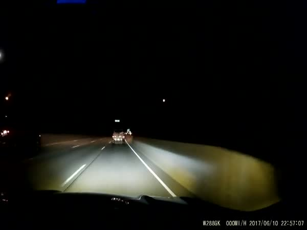 Dashcam Records A Terrifying Head On Crash On The Interstate