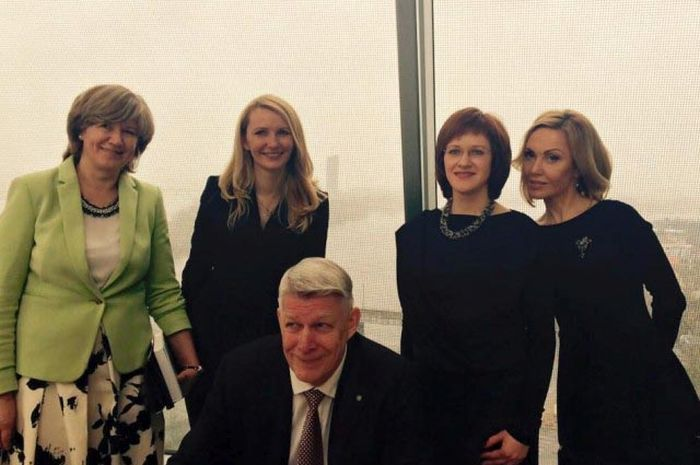The Adviser To The Minister For Foreign Affairs Of Latvia Is Smoking Hot (9 pics)