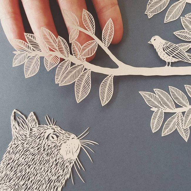 British Artist Creates Stunning Sculptures From Paper (15 pics)