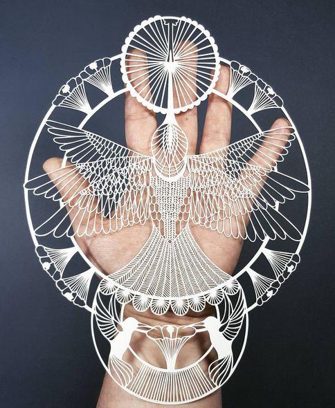 British Artist Creates Stunning Sculptures From Paper (15 pics)
