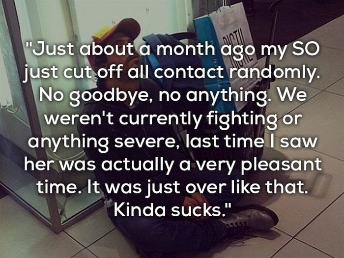 15 Heartbroken Souls Reveal The Worst Way They Were Dumped (15 pics)