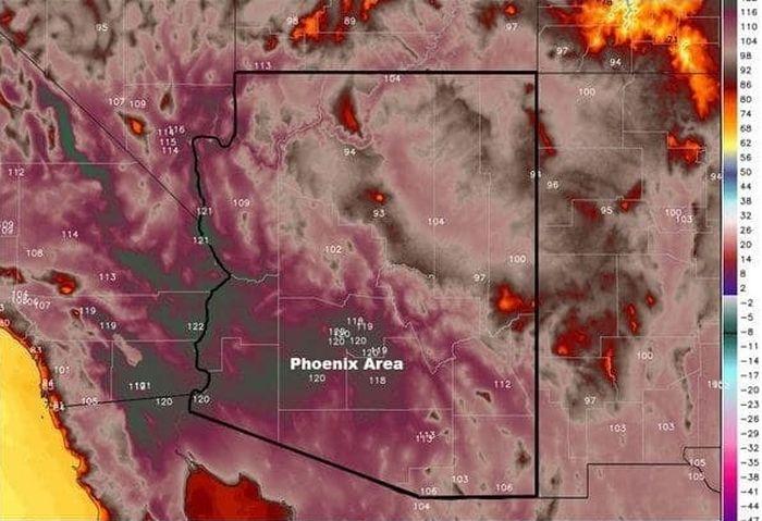 Arizona Is Literally Melting (11 pics)