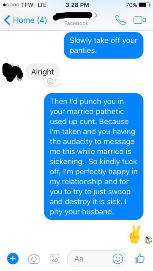 Ex-Girlfriend Tries To Ruin A Happy Relationship (9 pics)