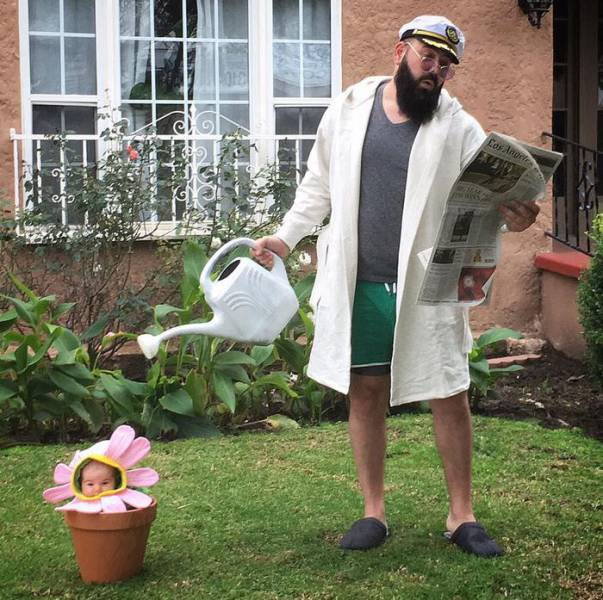 This Dad Definitely Knows How To Dad The Right Way (12 pics)