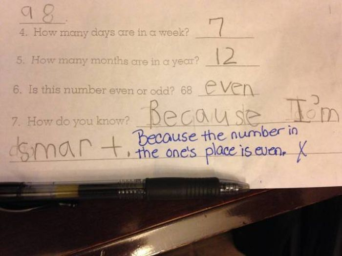 Schoolkids That Prove Logic Is A Very Relative Concept (18 pics)