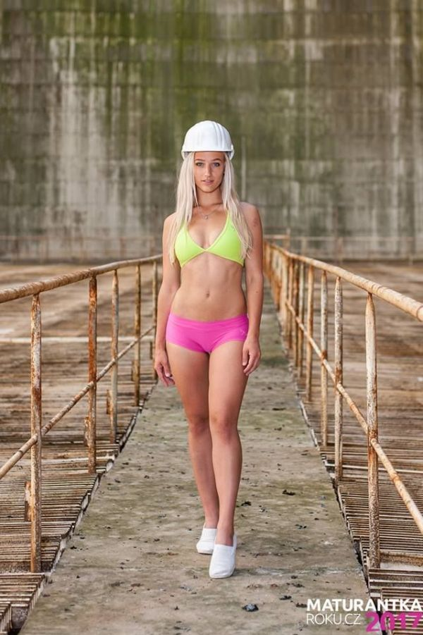Hot Pics From The Czech Republic Nuclear Power Station Bikini Contest (10 pics)