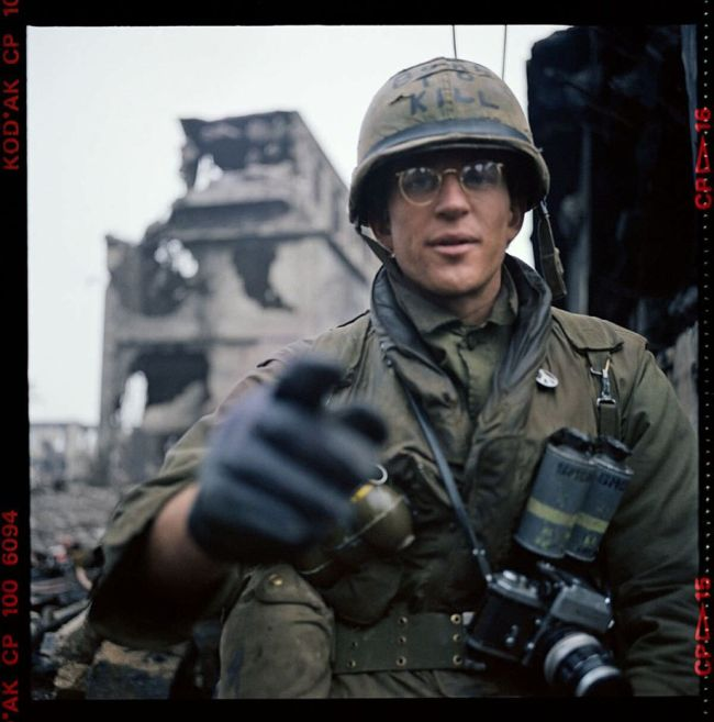 Full Metal Jacket Star Shares Behind The Scenes Photos From The Set (9 pics)
