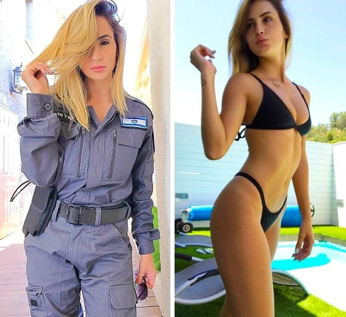 The Women Of The Israeli Army Are Drop Dead Gorgeous (18 pics)