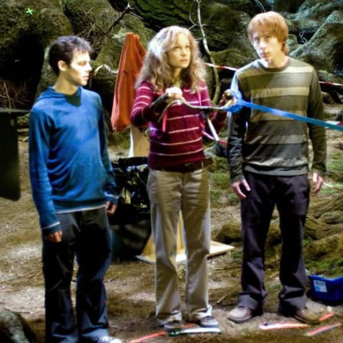 22 Awesome Behind The Scenes Photos From Harry Potter (45 pics)