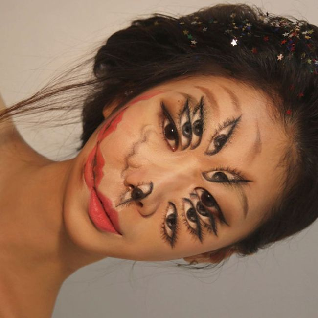 What This Artist Does To Her Face Will Seriously Mess Up Your Brain (29 pics)