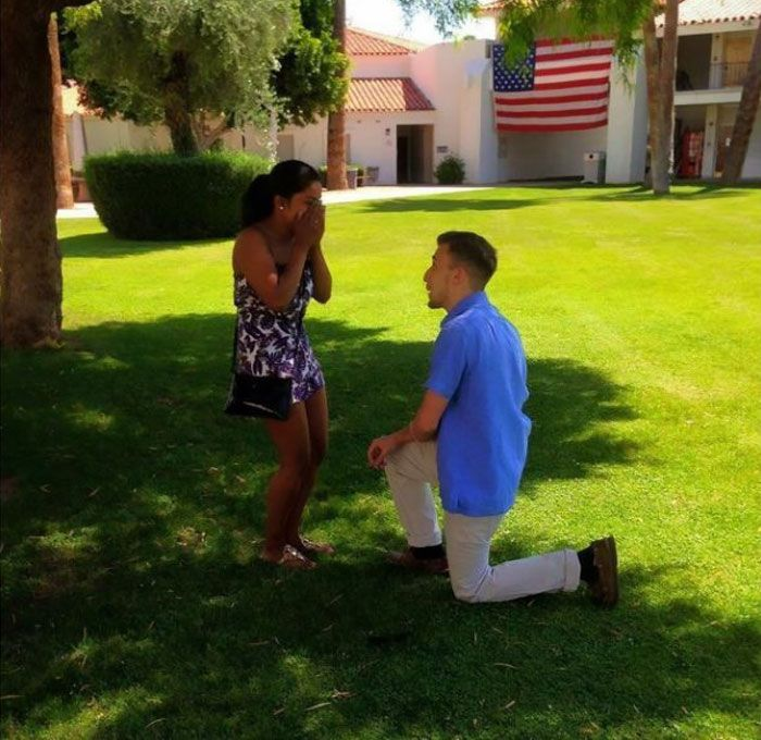 In Preschool He Promised To Marry Her And He Kept His Promise (14 pics)