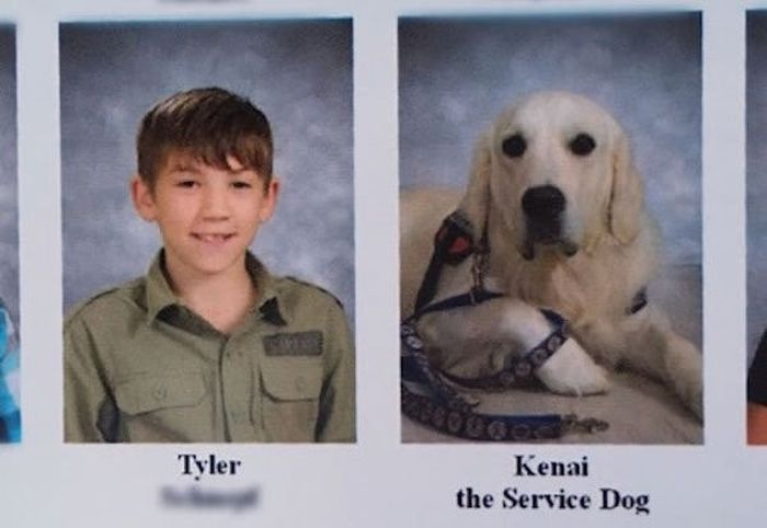 Dogs Who Made It Into The School Year Book (17 pics)