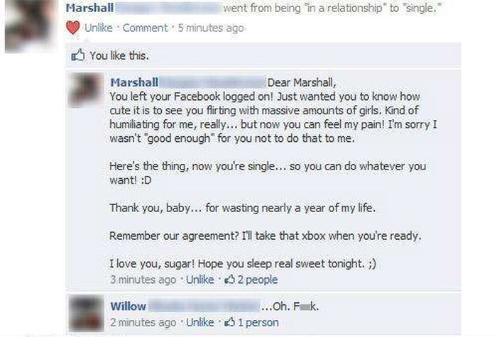 Proof That Cheaters Are Really Stupid People (25 pics)