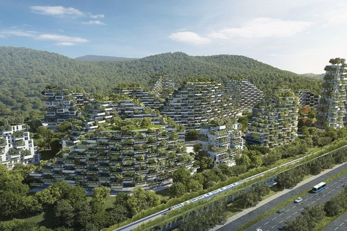 China Is Building A Forest City To Battle Smog (5 pics)