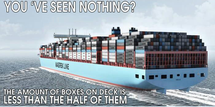 Ordinary Container Ship Is More Extraordinary Than It Looks (5 pics)