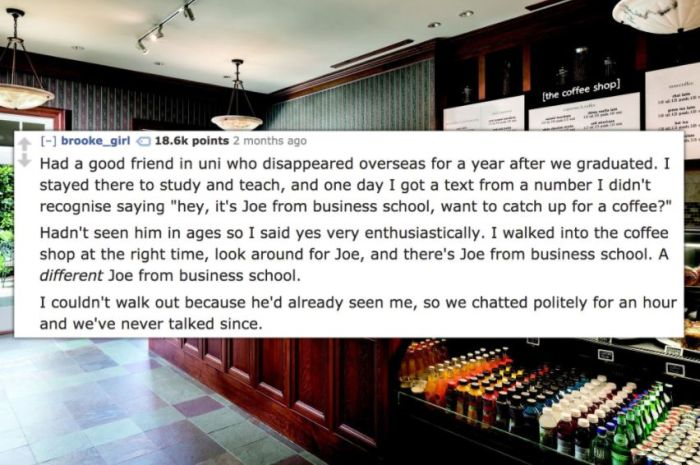 People Share The Strangest Date They've Ever Been On (12 pics)