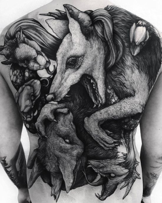 15 Amazing Tattoos That Will Drop Your Jaw (15 pics)