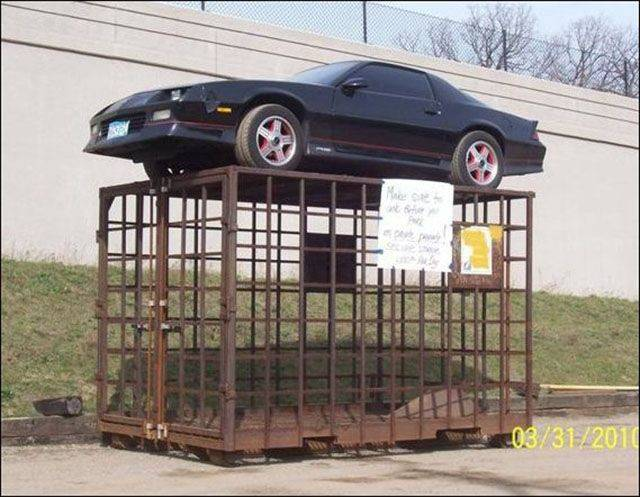 Why It's A Bad Idea To Park In Wrong Places (34 pics)