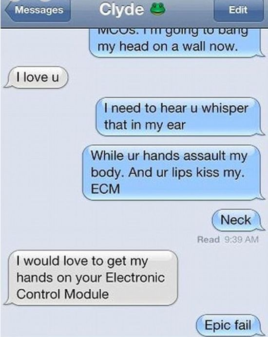 When Sexting Goes Horribly Wrong (21 pics)