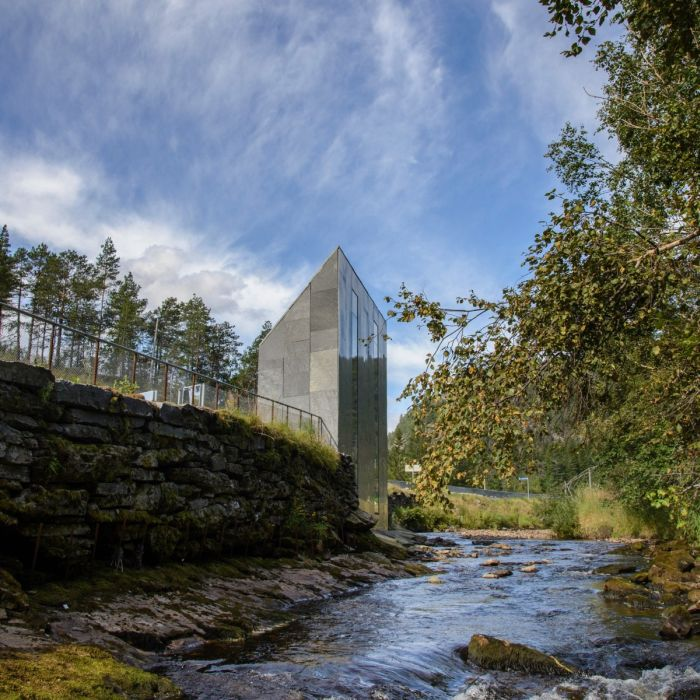 You Can Watch A Waterfall At This Toilet In Norway (6 pics)
