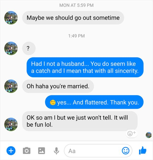 Cheating Husband Gets Owned After Texting A Married Woman (8 pics)