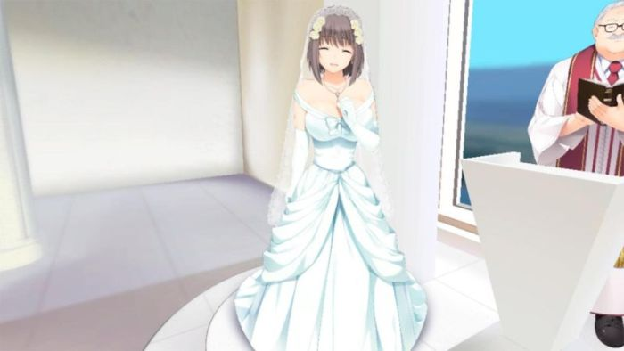 japanese gamer gets married in virtual wedding 4 pics