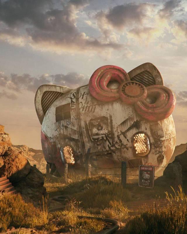 Artist Shows The Disturbing Future Of Modern Pop-Art (14 pics)
