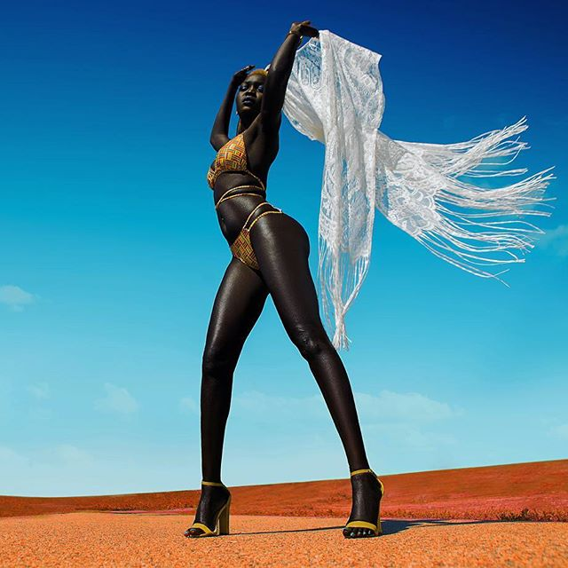 Nyakim Gatwech Is A Model Also Known As The Queen Of The Dark (24 pics)