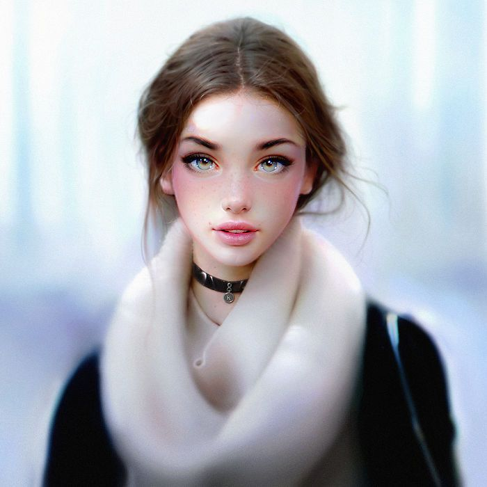 Stunning Hyper-Realistic Portraits By Artist Irakli Nadar (13 pics)