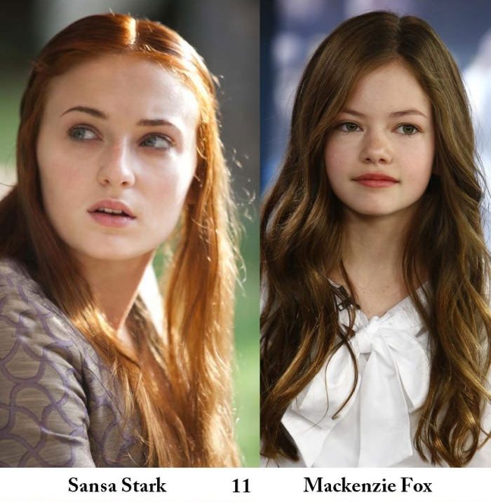 If Game Of Thrones Characters Were Actually Played By Actors Their Age (9 pics)